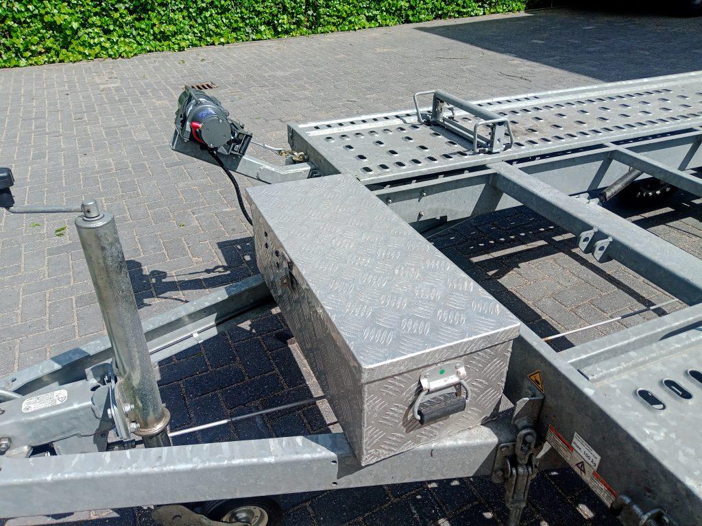elektrische trailer lier